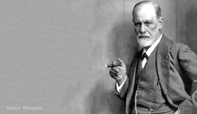 freud and cigar
